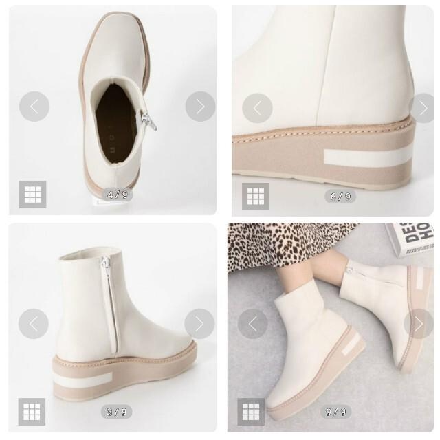 Lucidaルシーダ/厚底ウェッジブーツ春/39 レディースの靴/シューズ(ブーツ)の商品写真