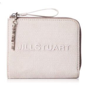 ジルスチュアート(JILLSTUART)のジルスチュアート 折財布 ブリリアント 山羊皮×牛革 二つ折り財布  ピンク(折り財布)