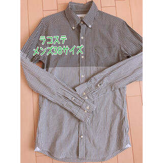 ラコステ(LACOSTE)のラコステ メンズ シャツ 春服 チェック ストライプ(シャツ)