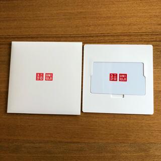 ユニクロ(UNIQLO)のユニクロ ギフトカード(ショッピング)