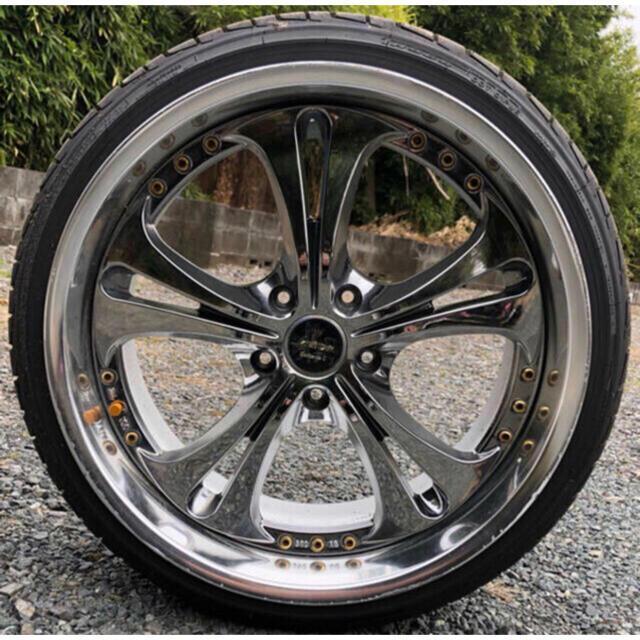 Kranze ケルベロスⅡ 19inch 4本 自動車/バイクの自動車(タイヤ・ホイールセット)の商品写真