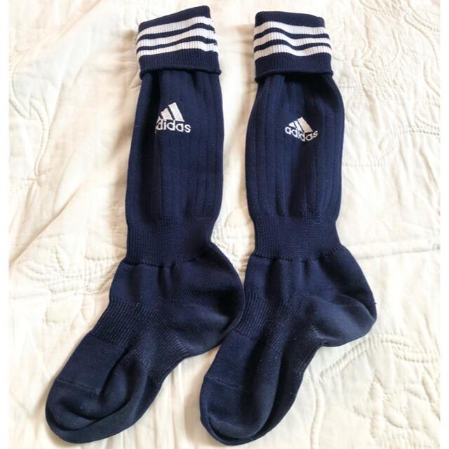 adidas(アディダス)のadidas  Jr.サッカーソックス 19-21㎝ スポーツ/アウトドアのサッカー/フットサル(ウェア)の商品写真