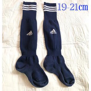 adidas - adidas  Jr.サッカーソックス 19-21㎝