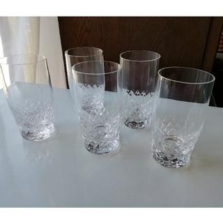 トウヨウササキガラス(東洋佐々木ガラス)のひとくちビールグラス 5個(グラス/カップ)