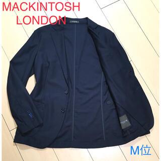 MACKINTOSH - 極美品★マッキントッシュ×極上ネイビーアンコンジャケット 春夏秋口 紺 A897