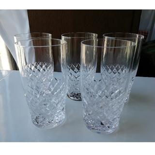 トウヨウササキガラス(東洋佐々木ガラス)のクリスタルタンブラー 5個(タンブラー)