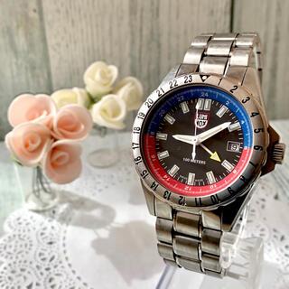 Luminox - 【希少】LUMINOX ルミノックス 腕時計 GMT メンズ ラウンド