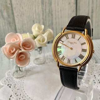 Christian Dior - 【美品】Christian Dior ディオール 腕時計 メンズ シェル文字盤