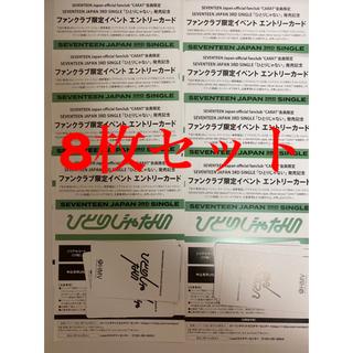 セブンティーン(SEVENTEEN)のSEVENTEEN ひとりじゃない CARAT盤シリアル(K-POP/アジア)
