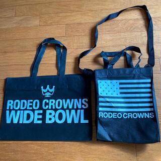 ロデオクラウンズ(RODEO CROWNS)の【値下げ】RODEO CROWNS 不織布 ショップ袋(ショップ袋)