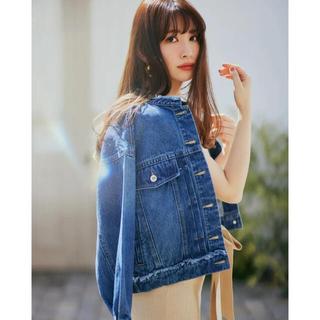 【新品未使用】everyday denim jacket