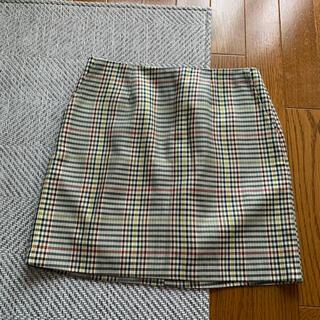 スタイルナンダ(STYLENANDA)のカラフルチェックミニスカート(ミニスカート)