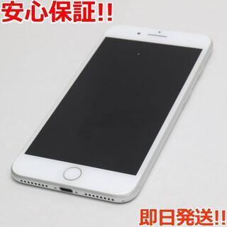 アイフォーン(iPhone)の美品 SIMフリー iPhone7 PLUS 128GB シルバー(スマートフォン本体)