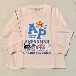 アンパンマン - アンパンマン綿100%薄手トレーナースウェットシャツ100サイズアイボリー男の子