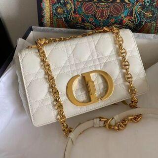 Dior - DIOR CARO 新品 新作 カロ ホワイト BAG チェーンバッグ