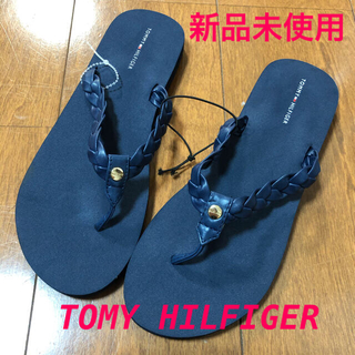 TOMMY HILFIGER - TOMMY HILFIGER  トミーヒルフィガー サンダル 新品未使用