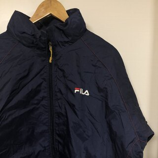 フィラ(FILA)のA10 FILA ナイロンジャケット(ナイロンジャケット)