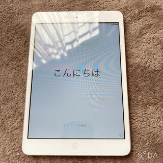 iPad - 初代 iPad mini Wifiモデル 16GB ホワイト シルバー