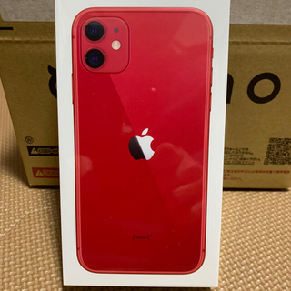 Apple - iPhone11 128GB  RED SIMフリー 新品未使用