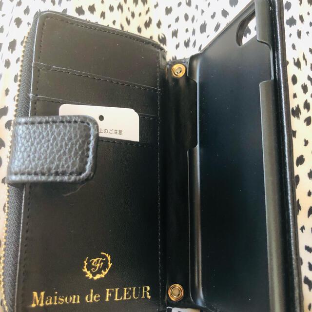 Maison de FLEUR(メゾンドフルール)のリボンウォレット付き iPhone7/8ケース メゾンドフルール スマホ/家電/カメラのスマホアクセサリー(iPhoneケース)の商品写真