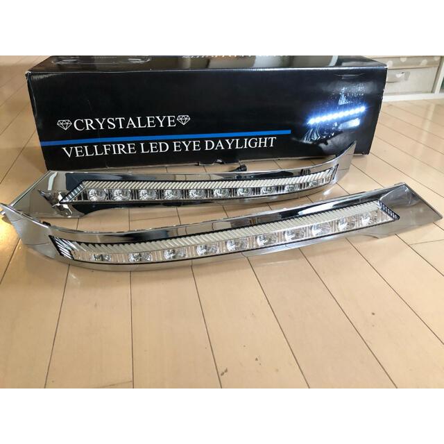 トヨタ(トヨタ)のヴェルファイア 20系 LED EYE DAYLIGHT ホワイト 自動車/バイクの自動車(車種別パーツ)の商品写真