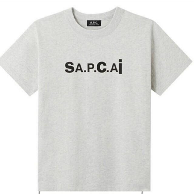 sacai(サカイ)のsacai × APC  コラボTシャツ S 新品未着用 サカイ メンズのトップス(Tシャツ/カットソー(半袖/袖なし))の商品写真