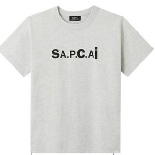 sacai - sacai × APC  コラボTシャツ S 新品未着用 サカイ