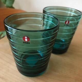 イッタラ(iittala)のイッタラ  アアルトタンブラー シーブルー(グラス/カップ)