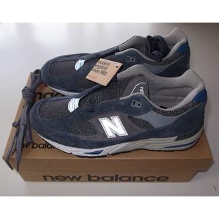 ニューバランス(New Balance)のnew balance M991GRB grey blue US9.5 27.5(スニーカー)