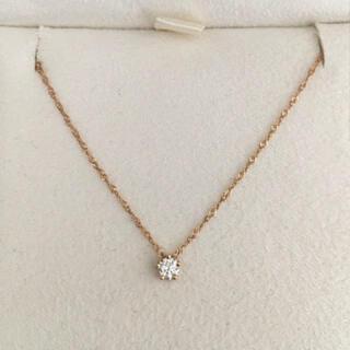 AHKAH - AHKAH アーカー ダイヤモンド スターリー ネックレス K18 0.10ct