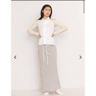 エディットフォールル(EDIT.FOR LULU)のbaserange brig skirt xsサイズ (ロングスカート)