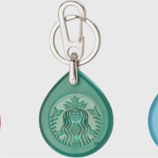 スターバックスコーヒー(Starbucks Coffee)のスタバ ビームス キーホルダー タッチ グリーン(キーホルダー)