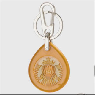 スターバックスコーヒー(Starbucks Coffee)のスタバ ビームス キーホルダー タッチ オレンジ(キーホルダー)