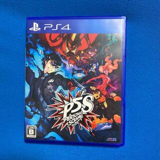PlayStation4 - ペルソナ5 スクランブル ザ ファントム ストライカーズ PS4