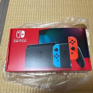 Nintendo Swich 本体 ネオン 未使用(家庭用ゲーム機本体)