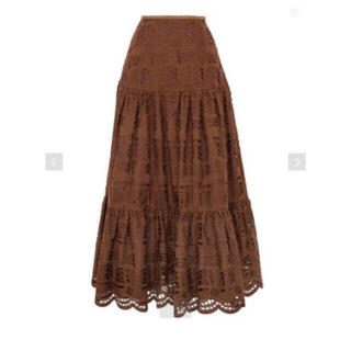 Drawer - 限定出品 即完売 エンブロイダリーギャザースカート