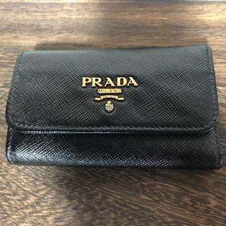 PRADA プラダ サフィアーノ キーケース 美品