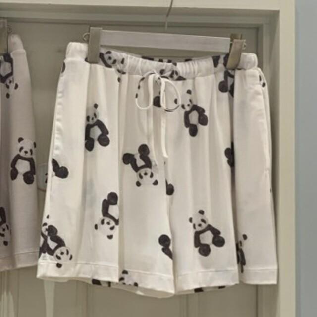 gelato pique(ジェラートピケ)の【定価以下】ジェラートピケ パンダTシャツ ショートパンツ レディースのルームウェア/パジャマ(ルームウェア)の商品写真