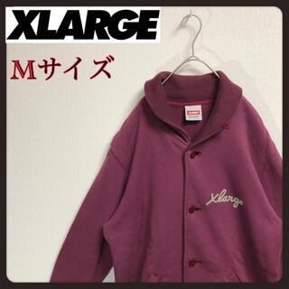 XLARGE - X-LARGE スタジャン風スウェットジャケット