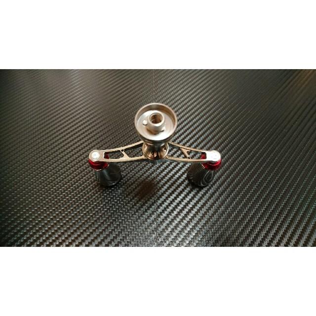 GOMEXUS ダブルハンドル ダイワ用 ネジ込み式 74mm スポーツ/アウトドアのフィッシング(リール)の商品写真