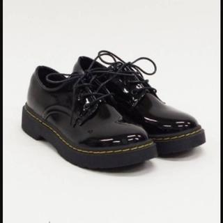 アマベル(Amavel)のAmavel ラバーソールレースアップシューズ(ローファー/革靴)