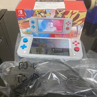 Nintendo Switch - 美品Nintendo Switch Lite ザシアン・ザマゼンタ