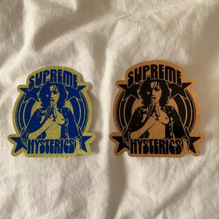 シュプリーム(Supreme)のSupreme ステッカー 2枚 hysteric glamour シュプリーム(その他)