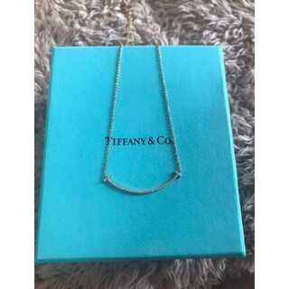 Tiffany & Co. - Tiffany ティファニー tスマイルダイヤモンドネックレス
