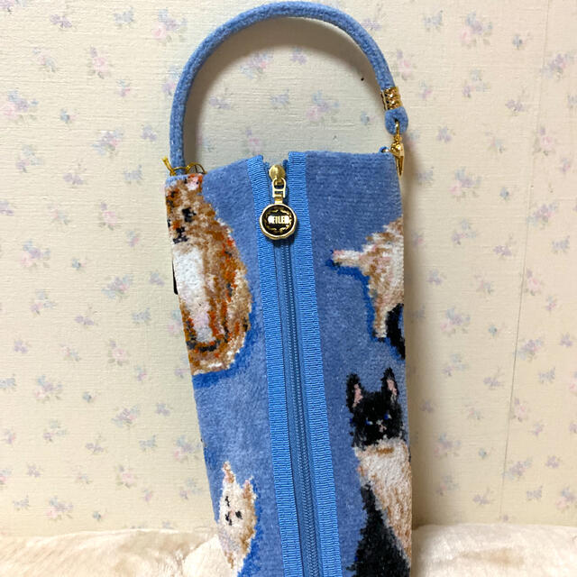 FEILER(フェイラー)のFEILER フェイラー マイキトゥン ペットボトルポーチ 猫 新品 レディースのファッション小物(ポーチ)の商品写真