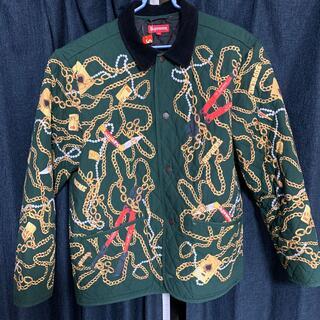 シュプリーム(Supreme)のsupreme chains quinted jacket(カバーオール)
