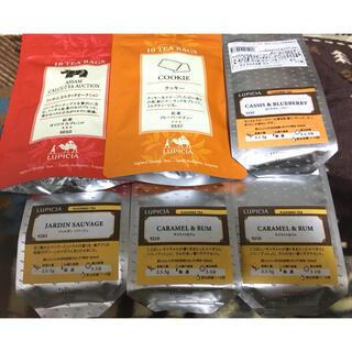 ルピシア(LUPICIA)の新品❤︎ルピシア leaf6点(茶)