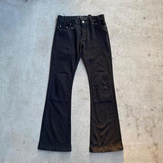 アートヴィンテージ(ART VINTAGE)のUSED check flared pants(その他)