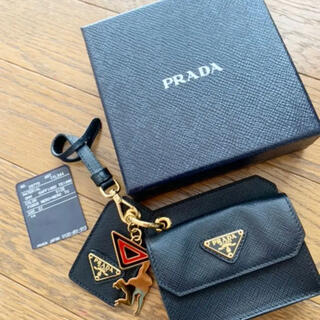 PRADA - PRADA サフィアーノキーリング ウォレット
