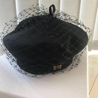 Christian Dior ロゴ キャスケット ベレー帽